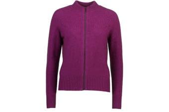 McDonald Possum Merino Yoke Neck Cable Jacket (7 Colours Available)