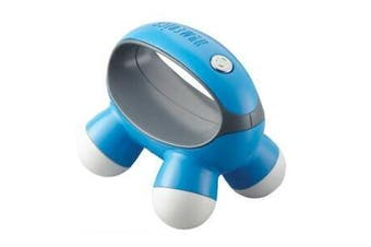 HoMedics QuaD Portable Electric Hand Held Vibration Massager Body/ Arms- Blue