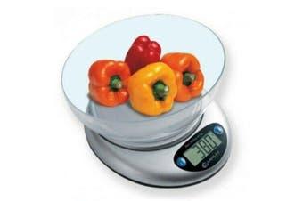 Sansai Electronic Digital Kitchen Scale w/ Bowl- Automatic Shut Off/ Measuring