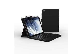 ZAGG Messenger Bluetooth Keyboard Folio Case For iPad 10.2 (7th/8th Gen) - Black