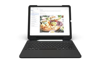 ZAGG SLIM BOOK GO KEYBOARD CASE FOR IPAD PRO 12.9 (3RD GEN/2018)- BLACK