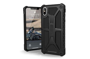 UAG MONARCH HANDCRAFTED RUGGED CASE FOR IPHONE XS MAX - BLACK