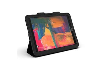 ZAGG Rugged Messenger Case with Visionguard Screen Protector For iPad 9.7 (6th/5th Gen)
