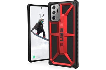 "UAG Monarch Rugged Protective Case For Galaxy Note 20 Ultra (6.9"") 5G - Crimson"