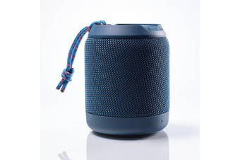 BRAVEN BRV Mini Rugged Portable Speaker - Blue