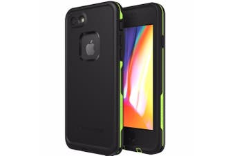 LIFEPROOF FRE 360° WATERPROOF CASE FOR IPHONE 8/7 - BLACK/LIME