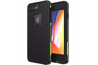 LIFEPROOF FRE 360° WATERPROOF CASE FOR IPHONE 8 PLUS/7 PLUS - BLACK/LIME