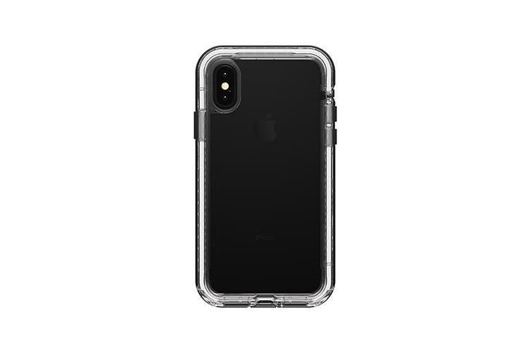 LIFEPROOF NEXT SERIES RUGGED CASE FOR iPHONE XS/X - BLACK CRYSTAL
