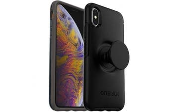 OTTERBOX OTTER + POP SYMMETRY CASE FOR IPHONE XS MAX - BLACK