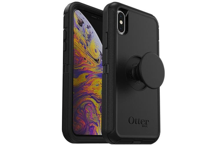 OTTERBOX OTTER + POP DEFENDER CASE FOR IPHONE X/XS - BLACK