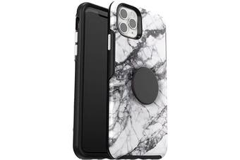 """Otterbox Otter + Pop Symmetry Case For iPhone 11 Pro Max (6.5"""") - White Marble"""