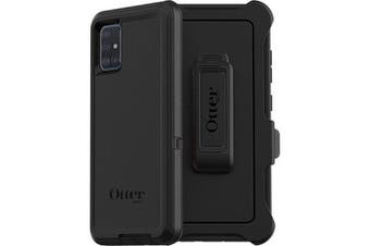 OTTERBOX Defender Screenless Rugged Case For Galaxy A51- Black