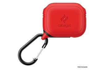 CATALYST Waterproof Case For AirPods Pro - Flame Red
