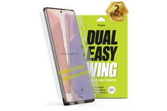 "RINGKE Dual Easy Film Screen Protector For Galaxy Note 20 5G (6.7"") - 2 Pack"