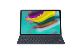 SAMSUNG BOOK COVER KEYBOARD CASE FOR GALAXY TAB S5E - BLACK