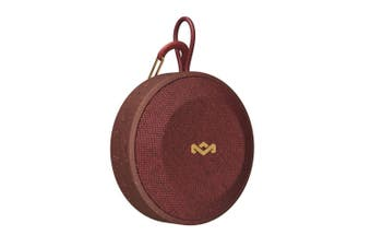 HOUSE OF MARLEY No Bounds Bluetooth Waterproof Outdoor Speaker - Red