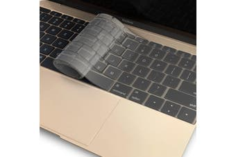 FLEXII Crystal Guard Keyboard Protector For Macbook Pro 13 inch (USB-C)/12 inch - Matte Clear