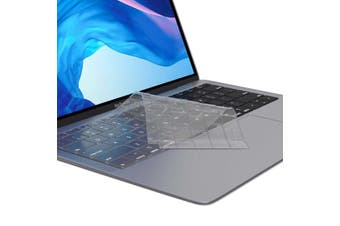 FLEXII Crystal Guard Keyboard Protector For Macbook Air 13 (USB-C) (2018-2019)- Matte Clear