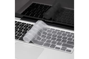 FLEXII Crystal Guard Keyboard Protector For Macbook Pro 13/15/Air 13 - Matte Clear