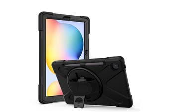 FLEXII GRAVITY Pirate Rugged Case For Galaxy Tab S6 Lite 10.4 (SM-P610/615)- BLACK
