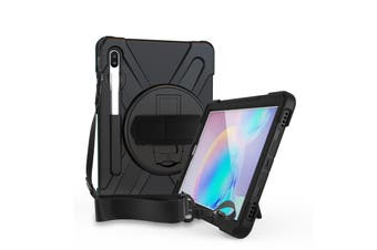 FLEXII GRAVITY Pirate Rugged Case For Tab S6 (SM-T860/T865) - BLACK
