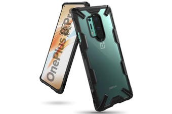 RINGKE Fusion-X Rugged Slim Case For OnePlus 8 Pro - Black
