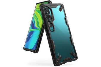 Ringke Fusion X Rugged Case For Xiaomi MI Note 10/Note 10 Pro - Black