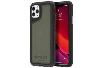 "GRIFFIN Survivor Extreme Case for iPhone 11 Pro Max (6.5"") - Black/Gray/Smoke"