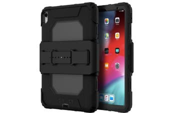 GRIFFIN SURVIVOR ALL-TERRAIN RUGGED CASE W/HAND STRAP FOR IPAD PRO 11 (1st/2018) - BLACK