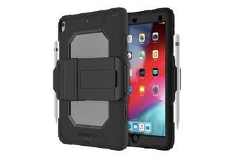 GRIFFIN Survivor All-Terrain Rugged Case For iPad 10.2 (7th Gen) - Black