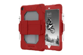 GRIFFIN Survivor All-Terrain Rugged Case For iPad 10.2 (7th/8th Gen) - Red