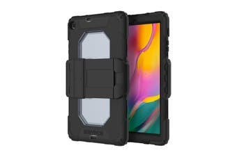 GRIFFIN Survivor ALL-Terrain Rugged Case For Galaxy Tab A 10.1-INCH (2019/SM-T510/T515) - Black