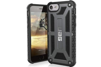 UAG MONARCH FEATHER-LIGHT RUGGED CASE FOR IPHONE 8/7/6S - GRAPHITE