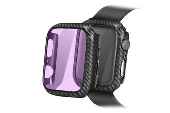 Lito Anti-Blue Tempered Glass Screen Protector PC Case For Apple Watch Series 3/2 (38MM)