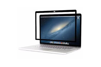LITO Anti-Glare Matte Frame Screen Protector for Macbook Pro 13 (USB-C)- Black/Clear