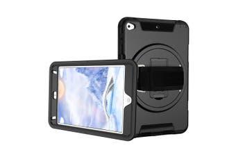 FLEXII GRAVITY 360 ARMOR CASE W/HAND STRAP FOR IPAD MINI 5/4 - BLACK