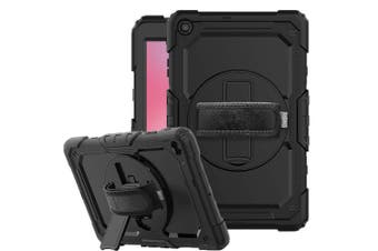 FLEXII GRAVITY Taipan Rugged Case For Galaxy Tab A 10.1-INCH (2019 SM-T510/T515)- BLACK