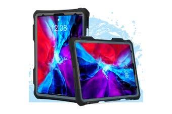 SHELLBOX Waterproof Case For iPad Pro 11 (2nd/1st Gen) - Black/Clear
