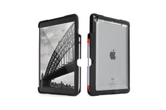 STM DUX SHELL DUO CLEAR CASE FOR iPAD AIR 10.5/iPAD PRO 10.5 - BLACK