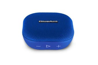 BLUEANT X0 Portable 6 Watt Bluetooth Speaker - Blue