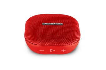 BLUEANT X0 Portable 6 Watt Bluetooth Speaker - Red