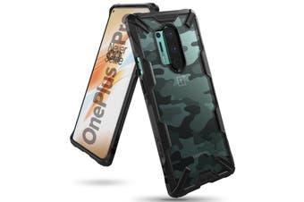 RINGKE Fusion-X Design Rugged Slim Case For OnePlus 8 Pro - Camo Black