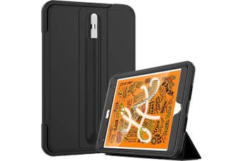 FLEXII GRAVITY Rugged Smart Cover Case for iPAD Mini 5/4 - Black