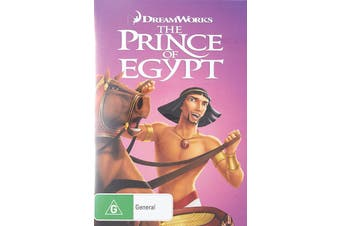 The Prince of Egypt DVD Region 4
