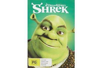 Shrek DVD Region 4