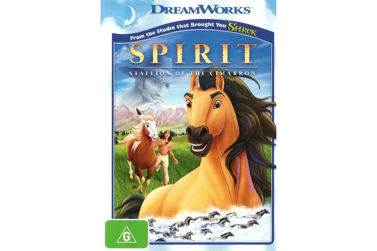 Spirit Stallion of the Cimarron DVD Region 4