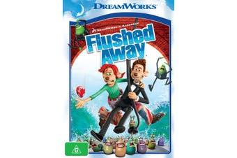 Flushed Away DVD Region 4