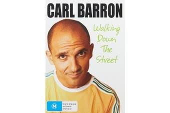 Carl Barron Walking Down the Street DVD Region 4