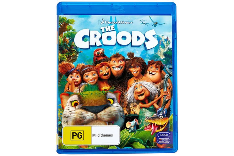 The Croods Blu-ray Region B
