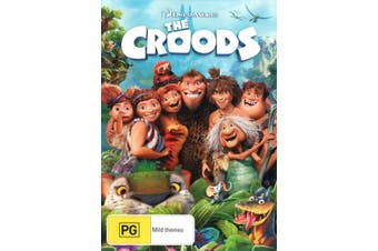The Croods DVD Region 4